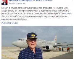 |PRESIDENTE RECORRERÁ ZONAS AFECTADAS EN PIURA Y LA LIBERTAD|