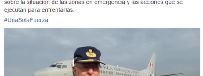  PRESIDENTE RECORRERÁ ZONAS AFECTADAS EN PIURA Y LA LIBERTAD 