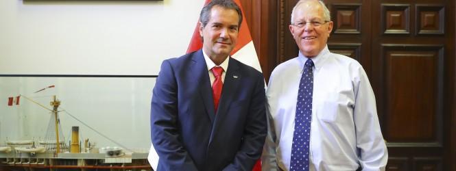Presidente Kuczynski y los Juegos Panamericanos