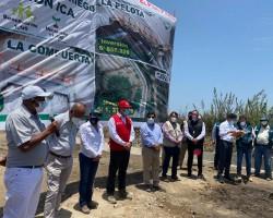 Ica: Ministro De Agricultura inaugura 03 canales de riego y asegura producción de 12 mil hectáreas de cultivos de Chincha